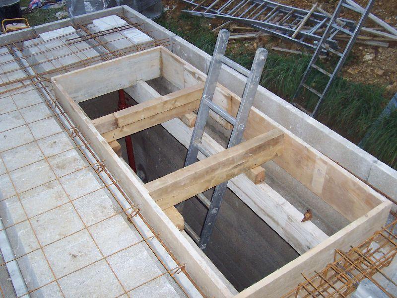 Tr mie auto construction d 39 une maison en bois massif - Ouvrir une tremie pour escalier ...