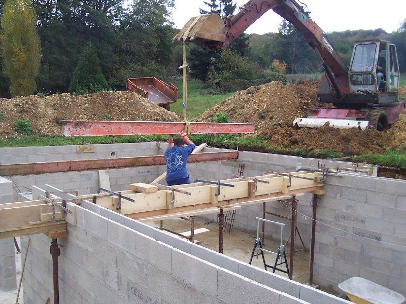 Freins auto construction d 39 une maison en bois massif for Construction en bois massif