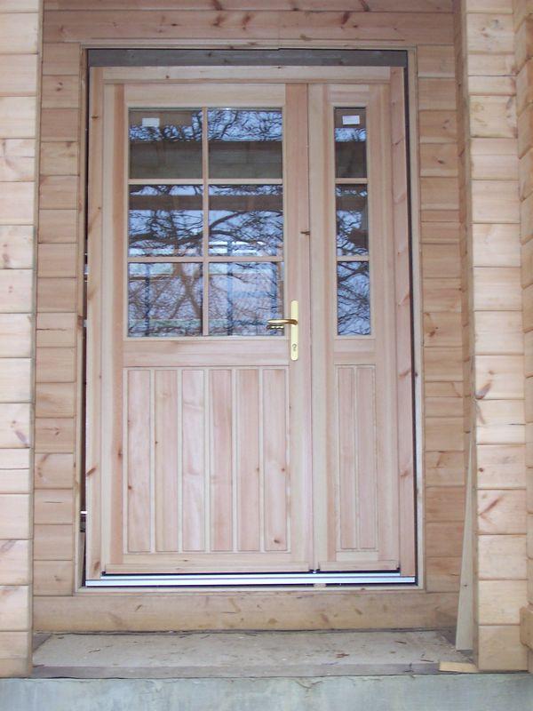 Les fen tres auto construction d 39 une maison en bois massif for Buer dans les fenetre