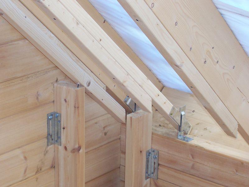 Franck page 20 auto construction d 39 une maison en bois - Lambris bois exterieur sous toiture ...