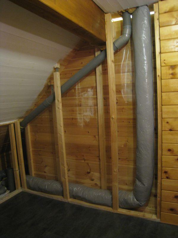 Ventilation auto construction d 39 une maison en bois massif for Ventilation dans une salle de bain
